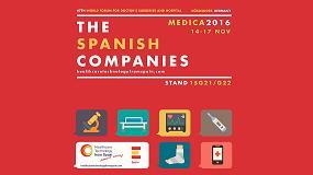 Foto de Fenin coordina la importante participación de empresas españolas en la 47º edición de Médica 2016