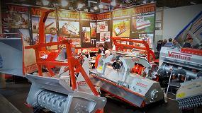 Foto de Ventura Máquinas Forestales llevó a Italia su amplia gama de trituradoras y astilladoras forestales