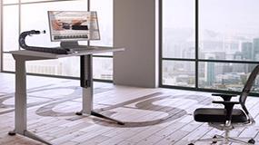 Foto de Cadenas portacables en los muebles de oficina más modernos