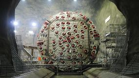 Foto de Instalación Metso para el aprovechamiento como árido de la roca procedente de la excavación de los Túneles del Proyecto Follo Line en Oslo, Noruega
