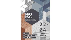 Foto de Feria Valencia convoca el nuevo salón Promat de materiales para proyectos y reformas