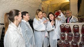 Foto de Marta Gastón inaugura las Bodegas Monasterio de Veruela