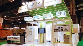 Foto de Retelec muestra en Matelec 2016 sus nuevos catálogos y productos