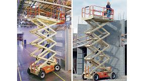 Foto de JLG ofrece una completa gama de plataformas de tijera para trabajos en interiores y exteriores