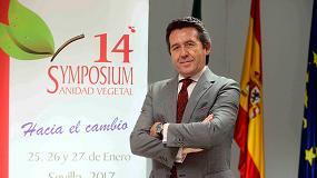 Foto de Entrevista a Antonio Vergel, presidente del COITAND, organizador del 14º Symposium de Sanidad Vegetal