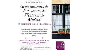 Picture of Gran encuentro de fabricantes de ventanas de madera