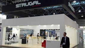 Fotografia de Strugal expone en Aluminium, feria mundial de la industria del aluminio