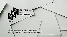 Picture of Xylazel expone en la nueva Galería de Materiales del COAM