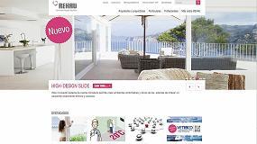 Foto de Rehau lanza su nueva web corporativa www.rehau.es