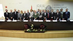 Foto de Veterindustria presente en la firma de la 'Declaración por la Industria'