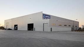 Foto de Cortizo abre en Manzanares un almacén de entrega inmediata de sistemas de aluminio y PVC