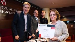 Picture of Maria del Mar Mulero gana el Premio de Emprendimiento del CAATEEB