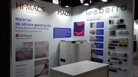 Picture of Gabarró destaca en InteriHOTEL con diseños y materiales de vanguardia