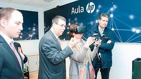 Foto de HP y la URJC acuerdan crear un aula de realidad virtual