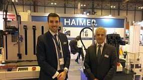 Foto de Entrevista a Javier Fernández, director comercial para el Sudoeste de Europa del Grupo Haimer