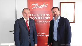 Foto de Entrevista a Félix Sanz, ingeniero de sistemas de campo de Danfoss, e Ibón Vadillo, Key Account Manager de Danfoss