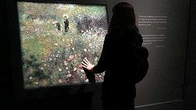 Foto de El Museo Thyssen muestra un cuadro de Renoir impreso con el equipo Océ Arizona