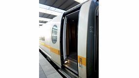 Foto de Barrierta L 25 DL, la solución de Klüber para optimizar la seguridad y comfort en las puertas de los trenes