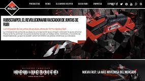 Picture of Rubi renueva su web para potenciar el servicio del usuario y la distribución