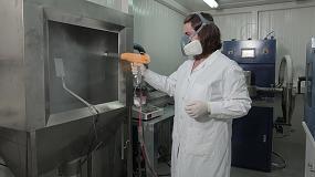 Foto de Gel coat en polvo con propiedades de conductividad eléctrica para facilitar la implantación de composites en la automoción