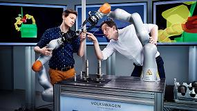 Fotografia de Interacción inteligente persona-máquina en Volkswagen