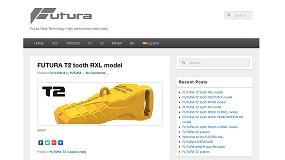 Foto de BYG actualiza la web www.futuraweartech.com