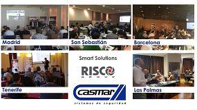 Foto de Casmar ha presentado las soluciones Smart Home de Risco en varias ciudades españolas