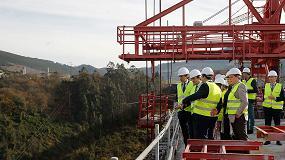 Foto de El ministro de Fomento visita las obras del viaducto sobre el río Narcea de la autovía A-63