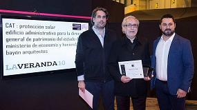 Foto de LaVeranda10 patrocina y hace entrega del Premio Veteco-Asefave de Protección solar
