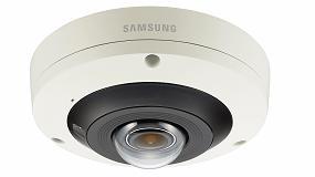 Foto de Nueva cámara ojo de pez 360 grados Samsung Wisenet P 4K de Hanwha Techwin