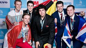 Foto de El equipo español gana el oro en la especialidad de Mecatrónica en los EuroSkills 2016 de Gotemburgo