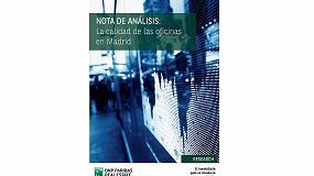 """Foto de Paribas RE: """"Sólo entre el 5% y 6% de los edificios de alta calidad en Madrid está disponible"""""""