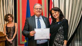 Foto de Geobrugg Ibérica recibe la Medalla de Oro Europea al Mérito en el Trabajo que otorga la Aedeec