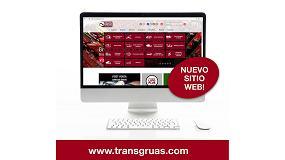 Foto de Transgrúas estrena su nueva página web