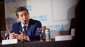 Foto de Mario Armero, vicepresidente ejecutivo de Anfac, satisfecho por la nueva apuesta de Automobile Barcelona 2017