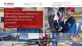 Foto de La nueva web de Mewa Textil-Managment
