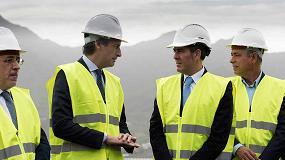 Foto de El ministro de Fomento visita las obras de la carretera de La Aldea a El Risco (Gran Canaria)