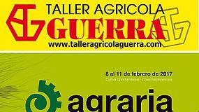 Foto de Taller Agrícola Guerra presentará su amplia gama de producto en Agraria