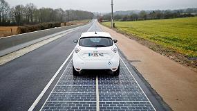 Foto de Francia pone en marcha el primer tramo de carretera solar del país