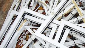 Foto de El reciclaje de la carpintería de PVC