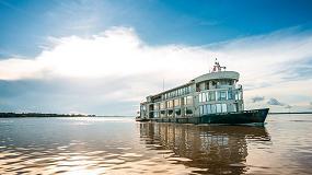 Foto de OLI equipa los baños del barco-hotel Amazon Discovery