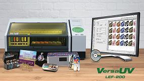Foto de Imprimir y personalizar pequeñas tiradas con la nueva VersaUV LEF-200 de Roland DG