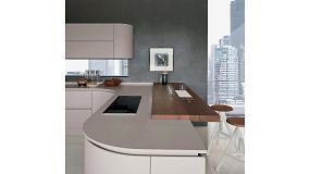 Foto de HI-Macs para la nueva versión de Artika, una cocina de Pedini que se presentará en IMM 2017