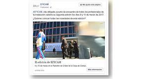 Foto de Arranca la campaña de publicidad de Eficam en Facebook