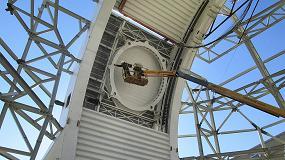 Foto de Nuevas tecnologías para la medición de grandes piezas