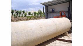 Foto de Informe de tubería de hormigón postesado con camisa chapa de 1988 de la Comunidad de Regantes del Puntal, en Huesca