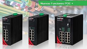 Foto de Red Lion amplía la gama de switches industriales NT24k ahora con POE+
