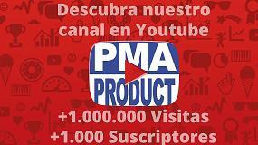 Foto de PMA Product supera los mil seguidores en su canal de Youtube y pasa del millón de visitas