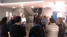 Foto de Alumnos del Centro de Formación de Apiem realizan una visita guiada por las instalaciones de 3M