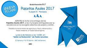 Foto de 29 ayuntamientos de 12 comunidades, galardonados por su excelencia en la recogida de papel y cartón para su reciclaje